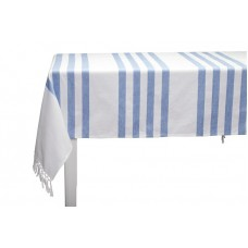 OBRUS AFFAIR STRIPE BLUE LENE BJERRE 280X150