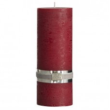 ŚWIECA RUSTIC COLLECTION DEEP RED XL LENE BJERRE