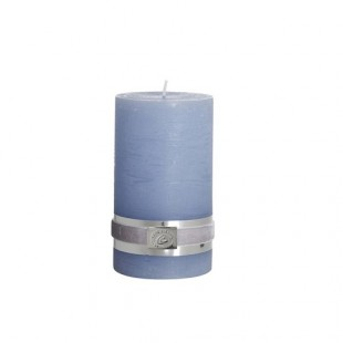 ŚWIECA RUSTIC COLLECTION LIGHT BLUE LENE BJERRE