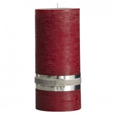 ŚWIECA RUSTIC COLLECTION DEEP RED LENE BJERRE