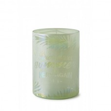 LAMPION TROPICAL SUMMER GREEN M RIVIERA MAISON