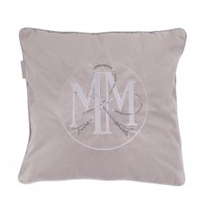 PODUSZKA LUXURY SIGNED GREY MAISON MADLENE