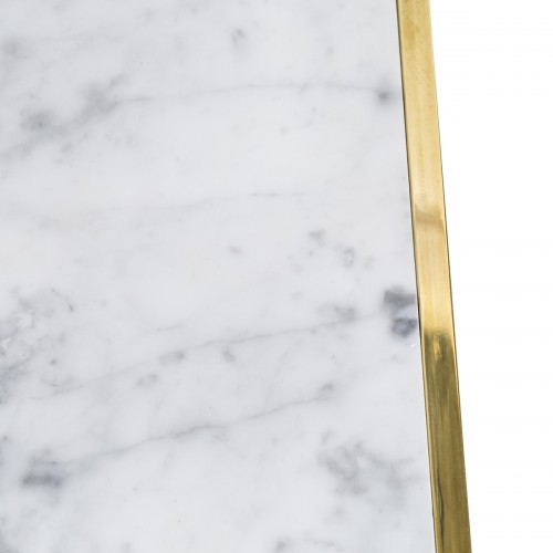 STOLIK LUXURY GOLD MARBLE WHITE SL COLLECTION