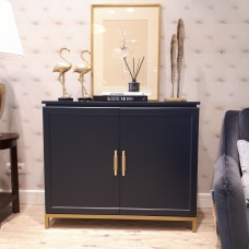 CABINET CHRISTIAN NAVY GOLD MAT SL COLLECTION