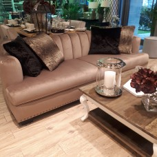 SOFA SHELL PREMIUM VELVET TAUPE SL COLLECTION