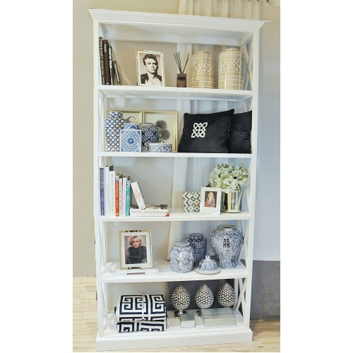 BIBLIOTECZKA HAMPTON CROSS WHITE SL COLLECTION