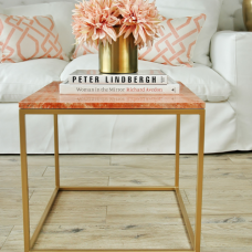 STOLIK KAWOWY LIVING CORAL GOLD SL COLLECTION