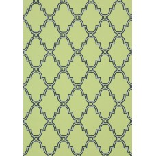 TAPETA THIBAUT STANBURY TRELLIS NAVY ON GREEN 35116