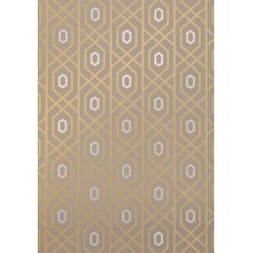 TAPETA THIBAUT PRESCOTT METALLIC ON TAUPE 1870